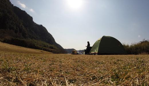 西日本車旅 2日目 – 愛知の桃太郎公園でキャンプ