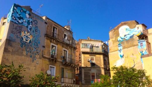 南欧旅 ① カターニャに上陸、現地民の家にお邪魔する【イタリア】