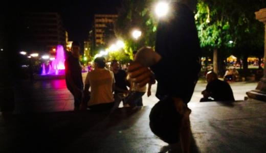 南欧旅 ⑦ ダンス、スケート、ドラッグ、喧嘩。アテネのストリート文化 inシンタグマ広場【ギリシャ】
